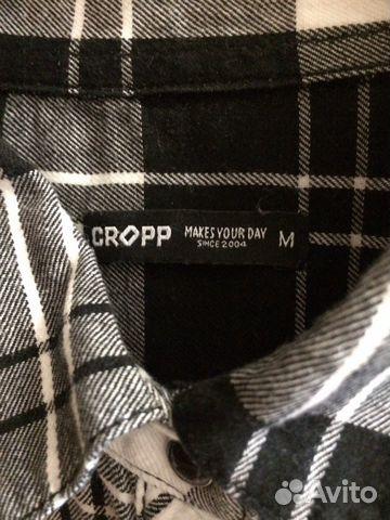 Клетчатая рубашка Cropp 89523916808 купить 2