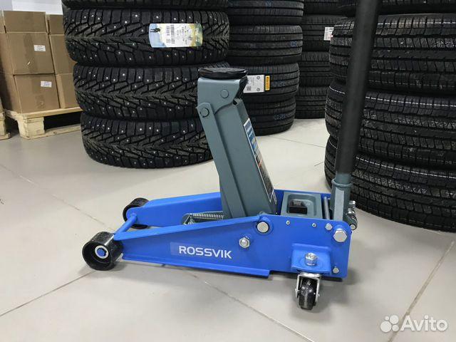 Домкрат подкатной гидравлический Rossvik V3 NEW 89536911143 купить 6