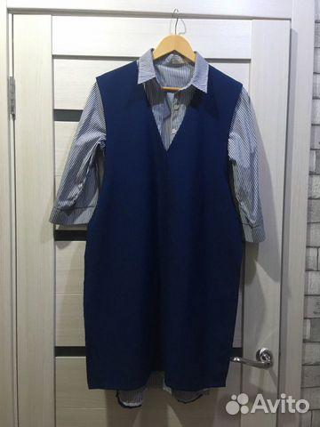 Платье рубашка  89328406546 купить 1