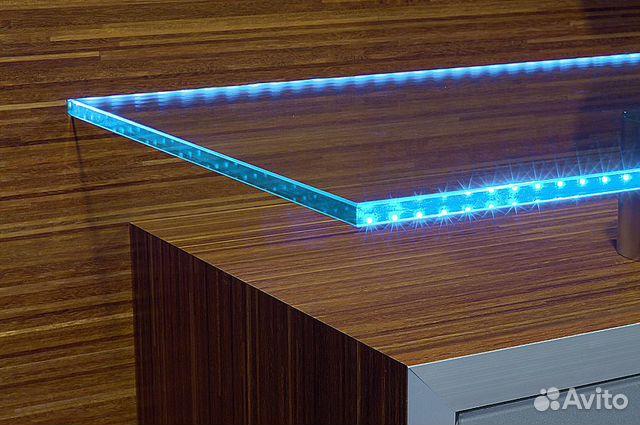 Светильник для стеклянной полки светодиодный купить в санкт-.