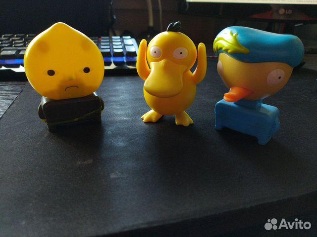 Игрушки McDonalds (Pokemon, Adventure Time)  89991502489 купить 1