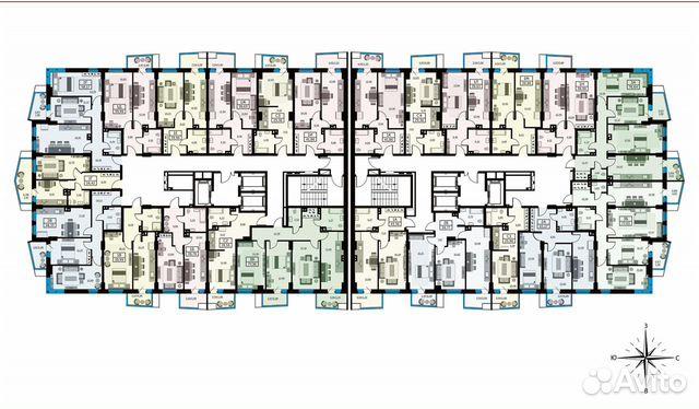 1-к квартира, 41.5 м², 15/26 эт. купить 10