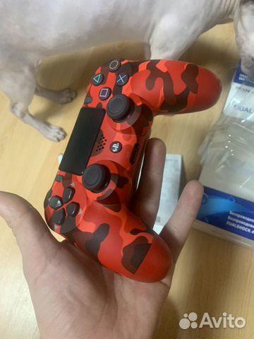 DualShock 4 v2 RedCamo