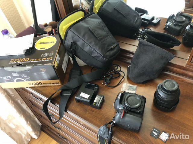 Фотоаппарат Nikon D7200  купить 2