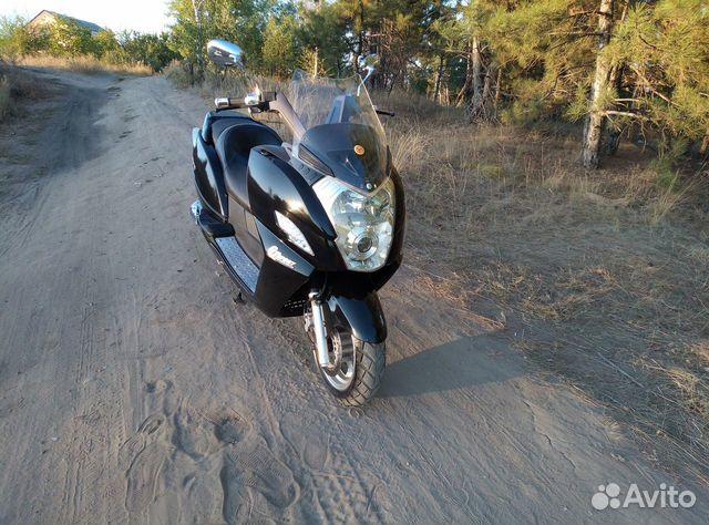 Макси скутер Yiben Vanguard 150  89885612079 купить 6