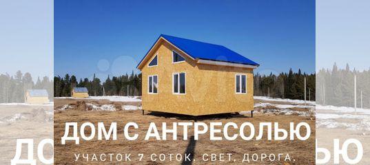 Дом 48 м² на участке 7 сот. в Томской области | Недвижимость | Авито