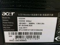 Монитор Acer V223W