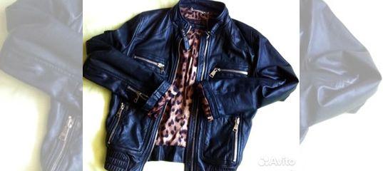 1f0f8a00f8b3 Кожаная куртка Dolce Gabbana купить в Москве на Avito — Объявления на сайте  Авито