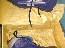 Продам лыжи бегоавые с палками и ботинки