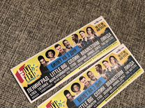 2 билета в фан-зону на livefest 16-18 августа