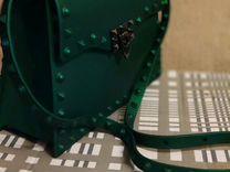 Сумка зеленая супер люкс