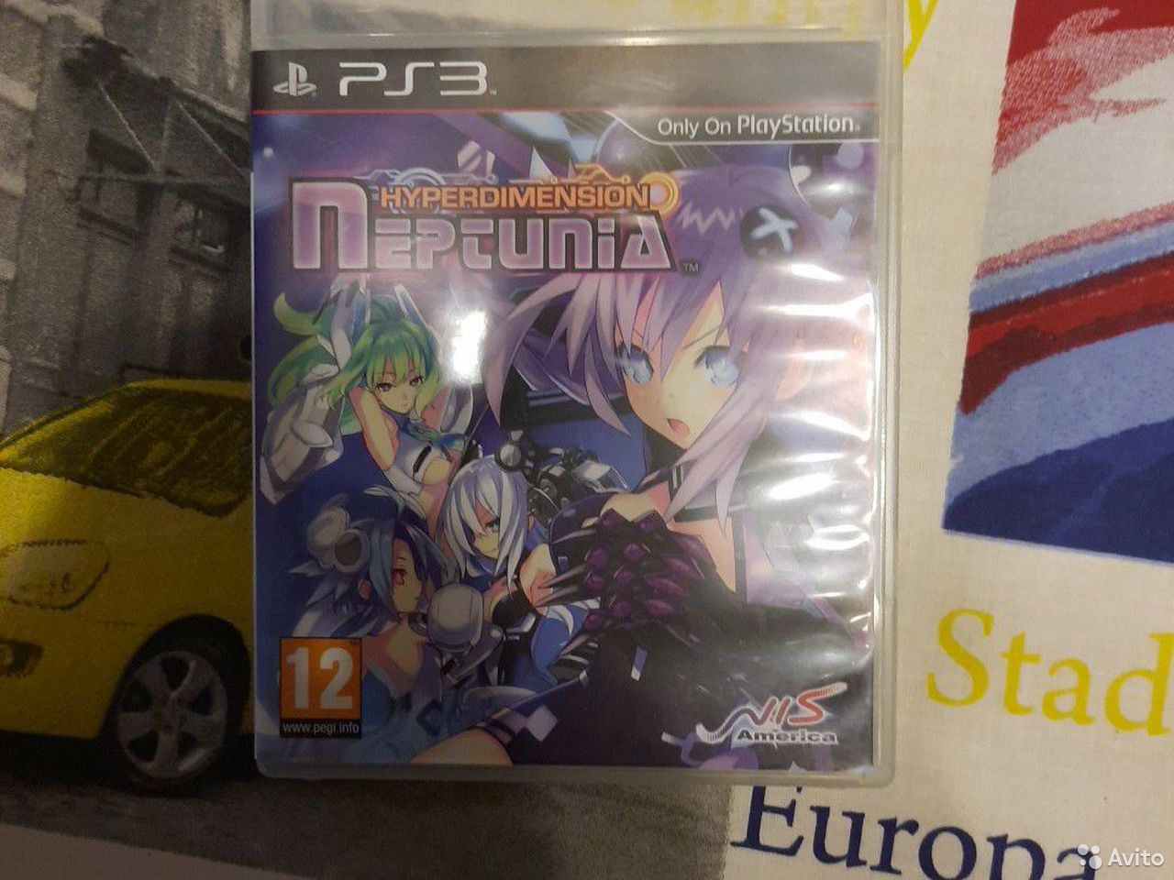 Hyperdimension Neptunia для PS3  89611345833 купить 1