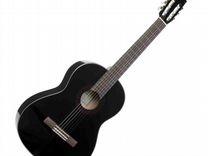 Черная классическая гитара Ямаха