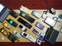 Раритеты Ericsson Panasonic pantech
