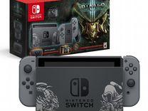 Nintendo switch diablo edition+два картриджа