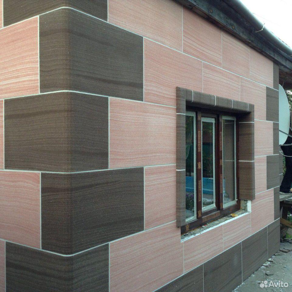 Отделка фасада домов из гибкого камня  89236857665 купить 3