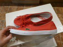 Слипоны, кеды Lacoste — Одежда, обувь, аксессуары в Санкт-Петербурге