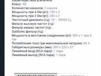 Усилитель Ivolga bg-1502