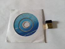 Wi-Fi адаптер TP-link TL-WN725N с диском