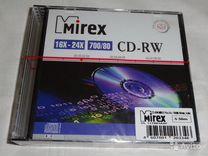 CD-RW диски, CD slim коробки