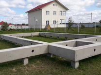 Фундамент на железобетонных сваях (28х4х200х200)