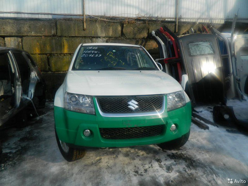 Бампер задний Suzuki Grand Vitara TD54W J20A 2005  89024819666 купить 6