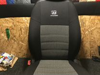 Чехлы на сиденья Модельные экокожа + ткань