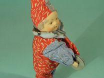 Винтажная коллекционная игрушка «Клоун»