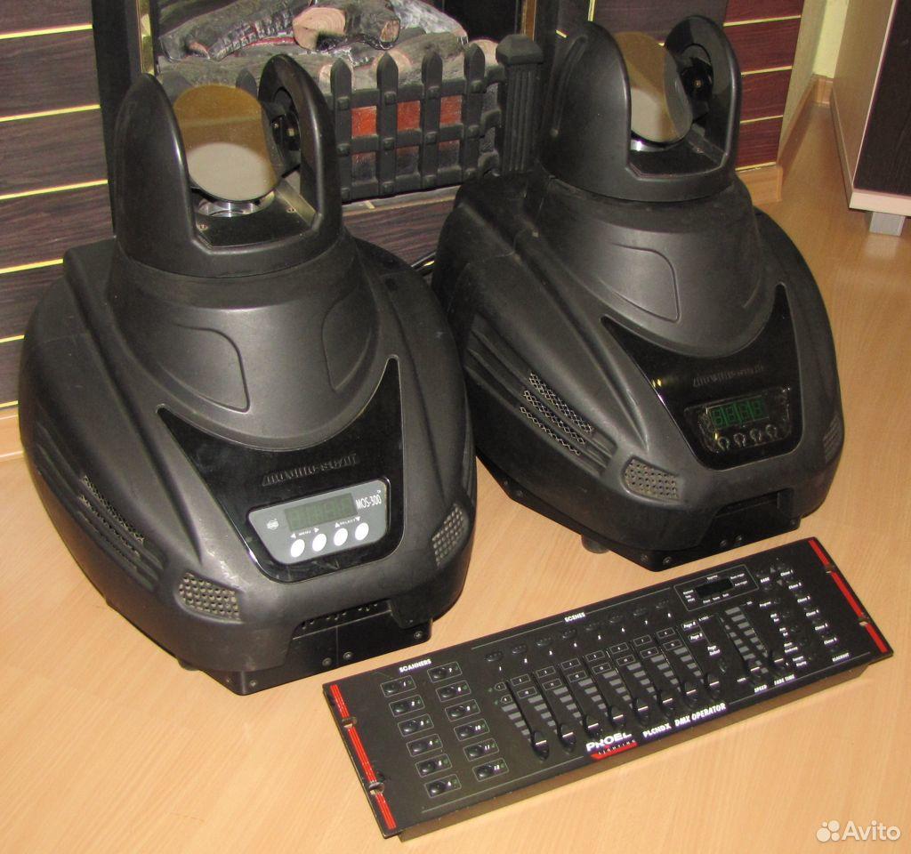 Pro светомузыка головы MOS300 2шт пульт DMX Proel  89128899109 купить 2