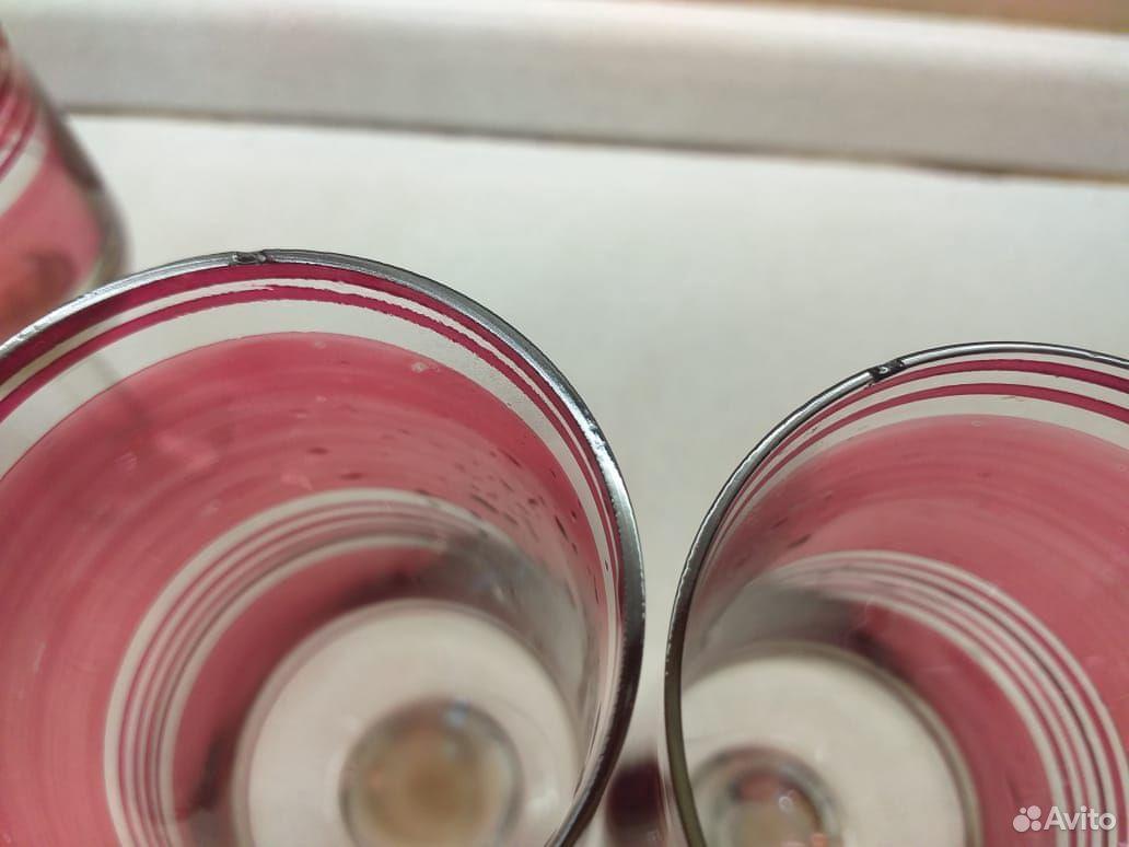 Стеклянные рюмки, бокалы из цветного стекла СССР  89807548898 купить 10