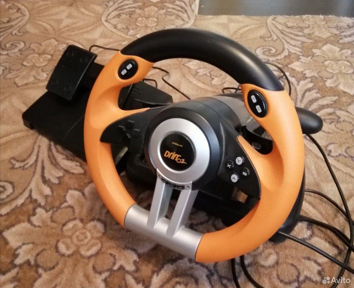Руль игровой drift02 spidlink  89224220041 купить 6
