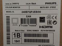 """24"""" Монитор Philips B Line 240B7qpjeb"""