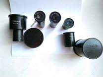 Объективы, окуляры ломо для микроскопов