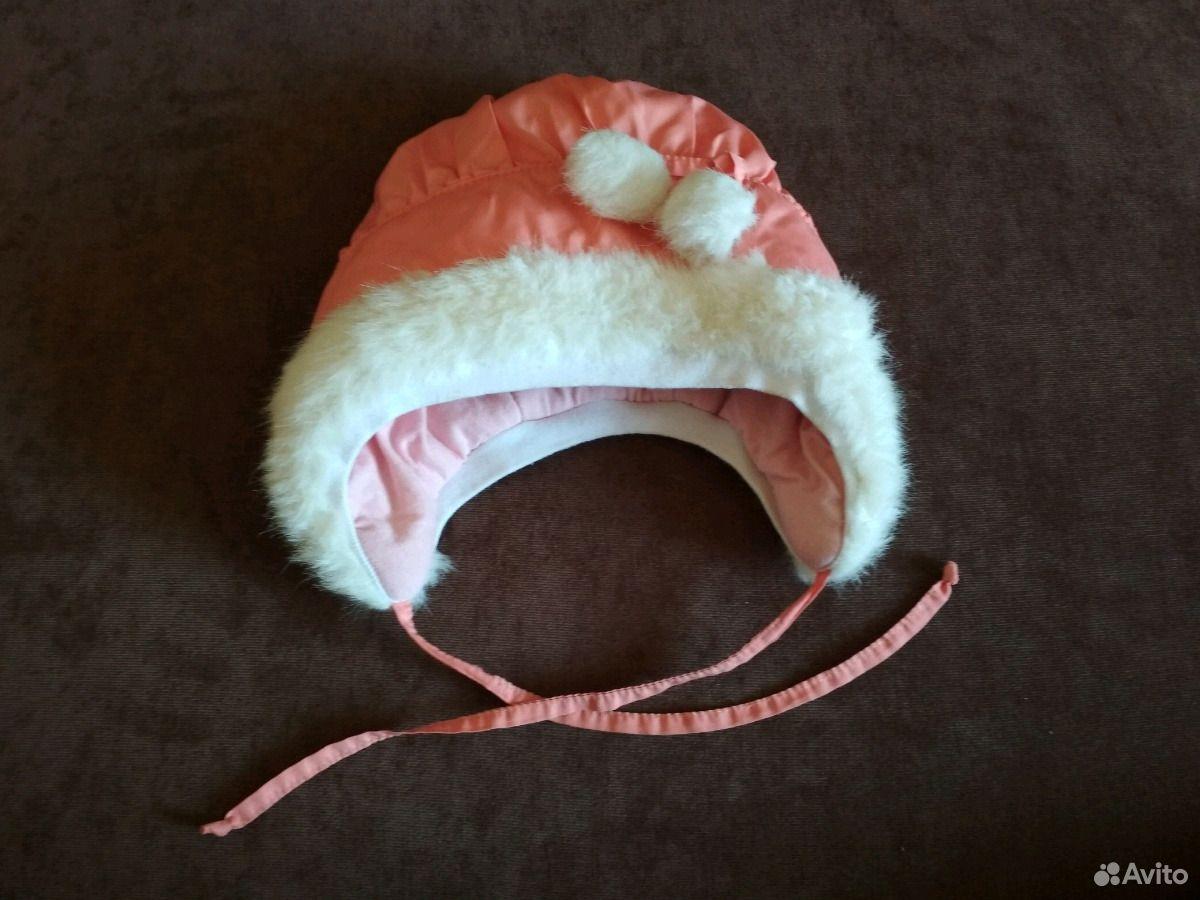 Зимняя шапочка для малышки  89831965010 купить 3
