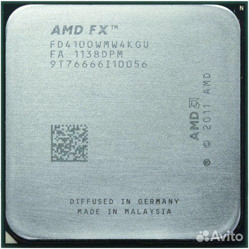 AMD 1055t и FX 4100
