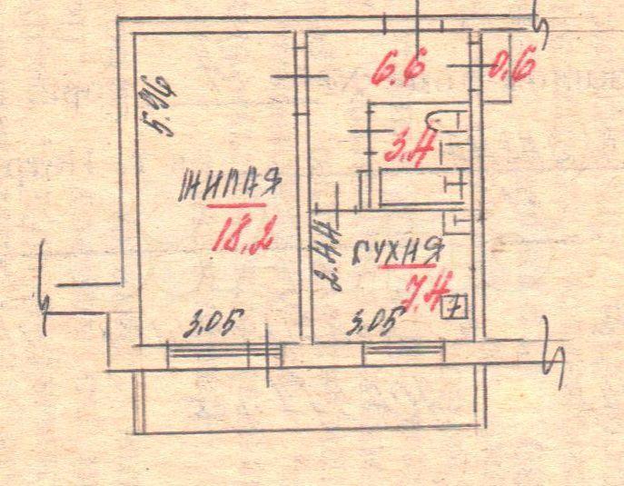 1-к квартира, 38.2 м², 10/10 эт.  89062091224 купить 2