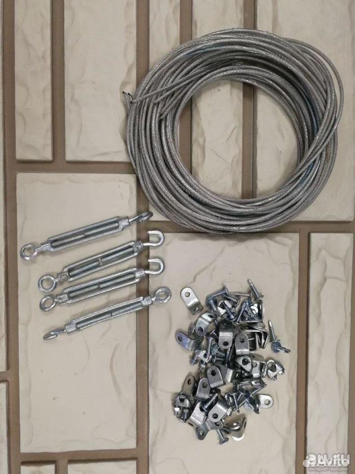 Комплект для подвязывания в теплице. 4 метра