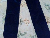 Джинсы-брюки чёрные 29-30 размер