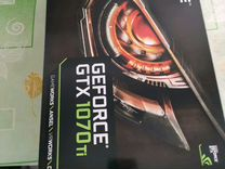 Видеокарты nvidia GTX nvidia 1070ti